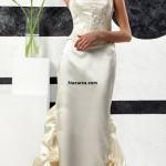 elbise-gorunumlu-uzun-saten-iki-parca-gelinlik-modeli