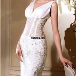 elbise-seklindeki-beli-dekolte-sifon-tullu-genis-askili-gelinlik