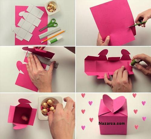 hediye-paketlemek-icin-kucuk-pembe-kutu-fikri-ve-sablonu