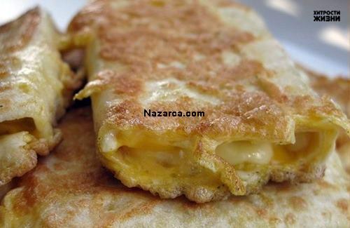 tavada-yumurtali-kasar-peynirli-yufkali-kolay-borek