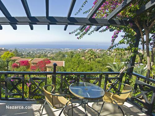 Bellapais Gardens Hotel-oda-balkon