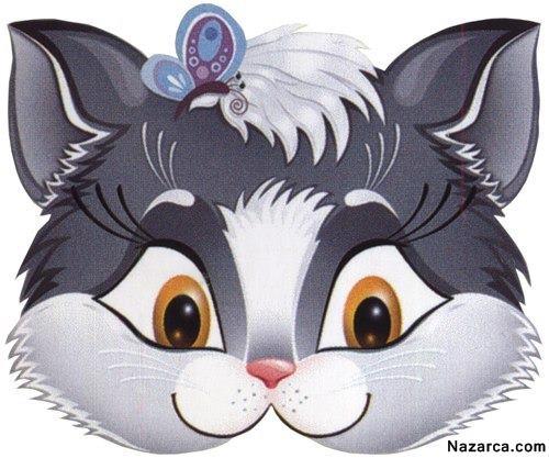 çocuklar Için Hayvan Ve Dede Maskeleri Nazarcacom