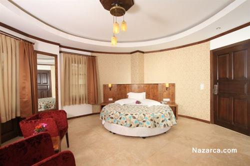 datca-orcey-hotel-sato-evleri-yatak-odasi