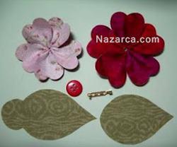 desenli-kağıtla-dekoratif-çiçek-resimli-8