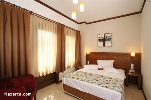 orcey-hotel-datca-evleri-yatak-odasi