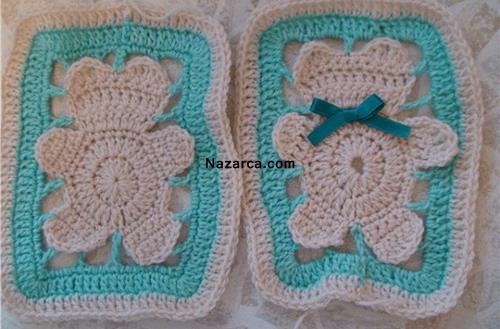 Ayılı Bebek Battaniyesi