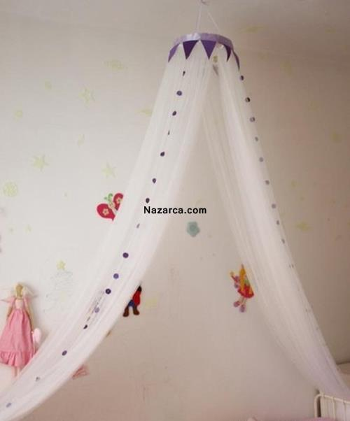 Балдахин на детскую кроватку своими руками 53