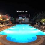 datca-perili-bay-resort-otel-havuz-gece
