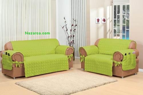 Koltuk kanepe ve ekyatlar n rt kilif modeller - Como hacer fundas para sofas paso a paso ...
