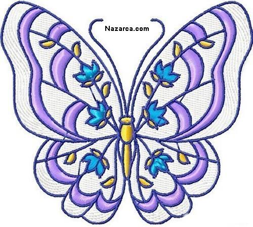 nakis-icin-rengarenk-kelebek-sablonlari