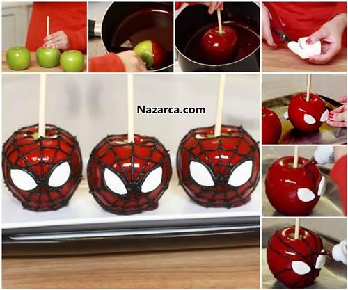 orumcek-adamli-elma-sekeri-spiderman-aplee