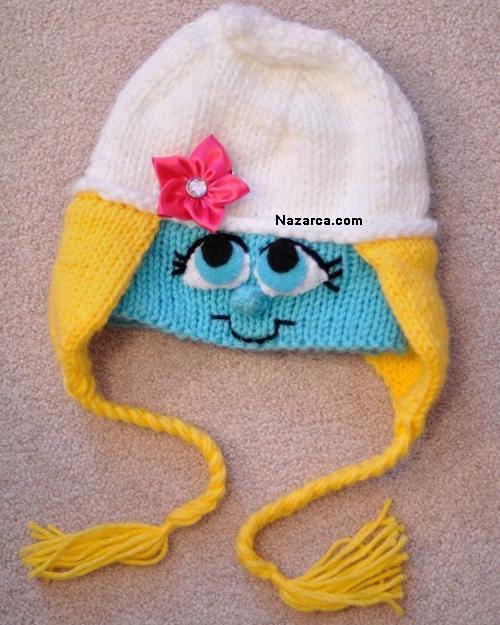 the smurfs crochet-nazarca