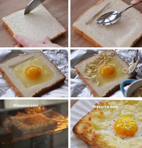 firinda-tost-ekmekli-kahvaltilik-yumurta