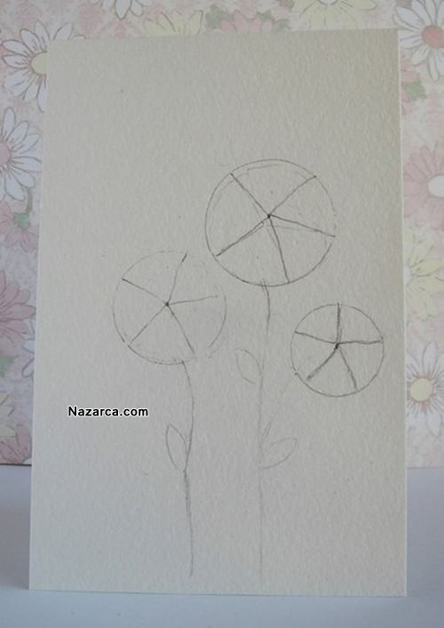 el-yapimi-sus-gullu-kart-calismasi-1