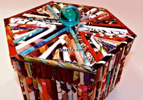 geri-donusum-gazete-ve-kutudan-dekoratif-depolama-kaplari