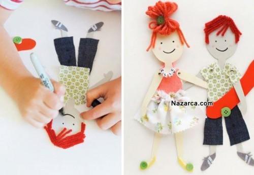 Сделать куклу из бумаги своими руками 13
