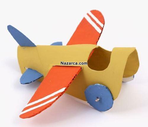 Karton Ile Kolay Uçak Planör Yapma Etkinliği Nazarcacom