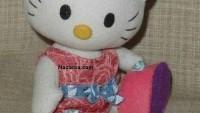 Keçe Hello Kitty Bebek Yapılışı