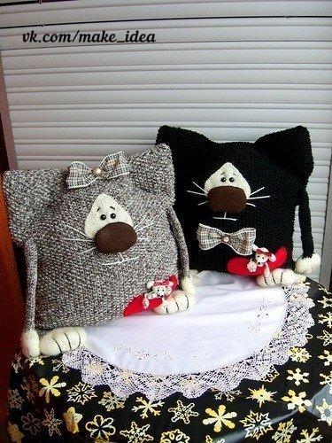 komik-kedi-orgu-yastik-modelleri-2
