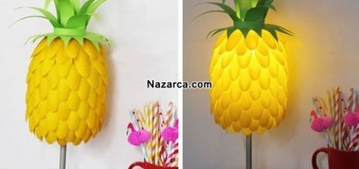 plastik-kasiklardan-ananas-abajur-yapilisi