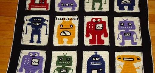 tigla-motif-arasi-komik-desenli-bebek-battaniyesi-semali