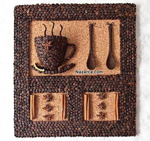 Coffee Cup Wall Decorations