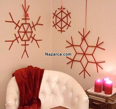 ev-dekorasyonuna-hobi-cubuklarindan-kar-taneleri
