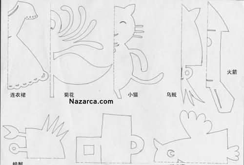 kagit-kesme-hayvan-figurleri-anaokulu-1