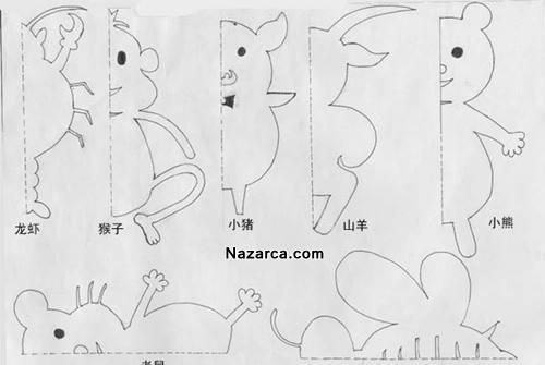 kagit-kesme-hayvan-figurleri-anaokulu-3