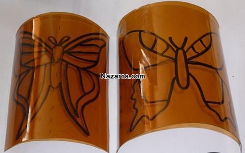 plastik-siselerden-oje-ile-boyanan-cok-guzel-kelebekler-yapmak-3