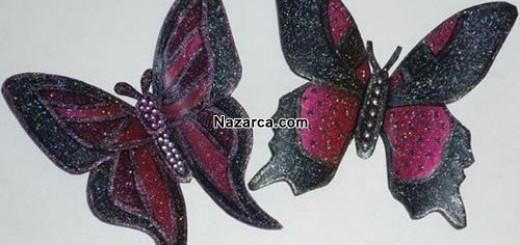 plastik-siselerden-oje-ile-boyanan-cok-guzel-kelebekler-yapmak