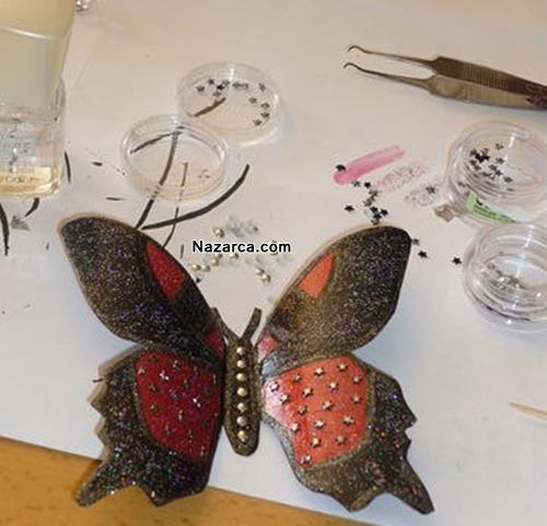 plastik-siselerden-oje-ile-boyanan-cok-guzel-kelebekler-yapmak-8