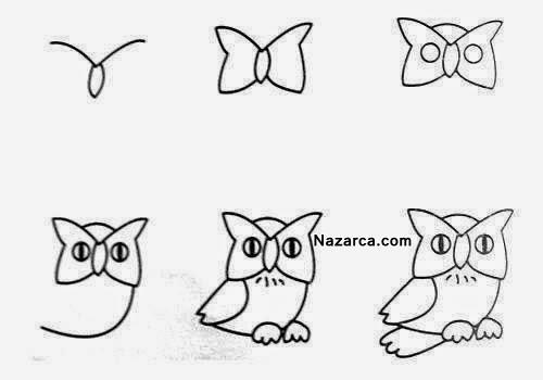 15 Tane Kolay Hayvan Karikatürü Resim Nasil çizilir Nazarcacom