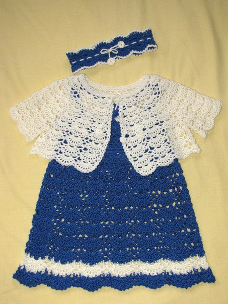 19d573c563412 Kız Çocuğu Elbise ve Bolerosu #1 (2 - 4 Yaş) - Video orgubiliyorum.com