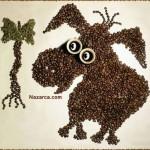 kahve-cekirdekleri-ile-sirin-kopek