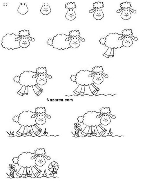 Kuzu Resmi Nasil Yapilir 6 Değişik Kuzu çizme Yöntemi Nazarcacom