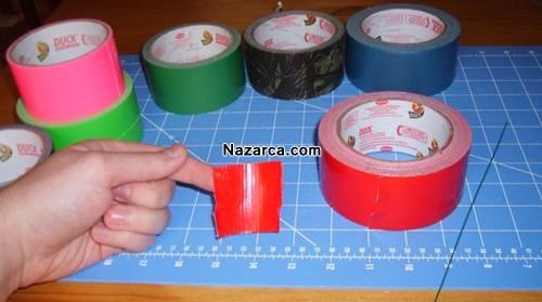 renkli-koli-bantlarindan-cicek-yapimi-2