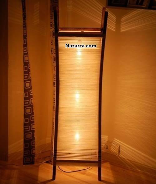 salon-icin-dekoratif-ayakli-zemin-isiklandirma-lamba-yapimi