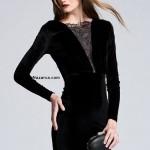 siyah-mini-uzun-kollu-kadife-bayan-abiye-elbise