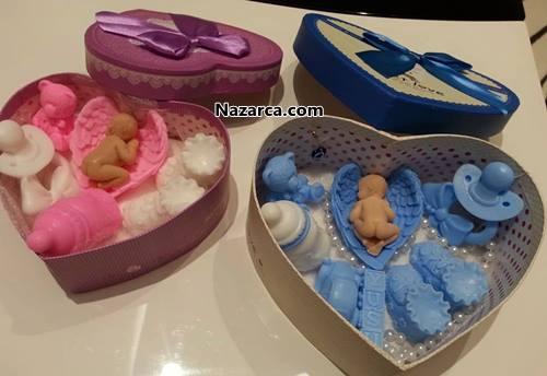 evde-yapilan-satilik-bebek-hediyesi-kalpli-kutuda-sabunlar