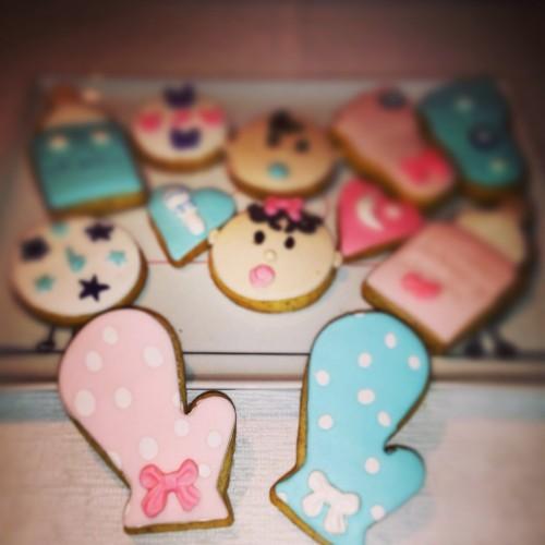 bebek eldiven kurabiye