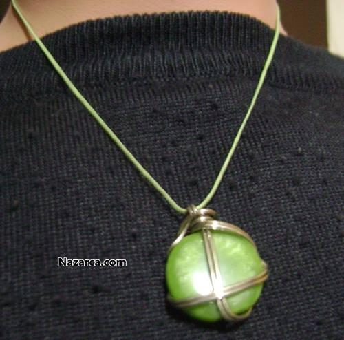 satilik-yeşil-tasli-kolye