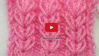 Videolu Örgü Başak Yolu Şiş Örneği İzle