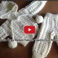 Videolu Örgü Bebek Takımı