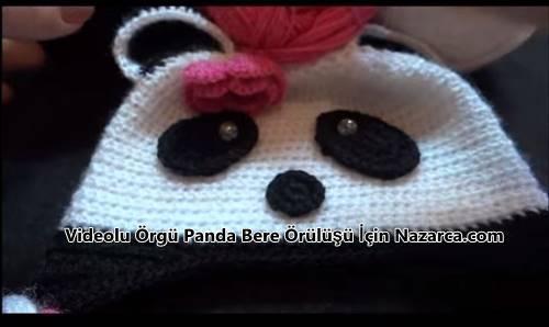videolu-orgu-bebek-cocuk-panda-bere-modeli