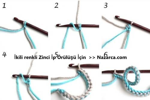 zincir-iki-yonlu-renkli-ip-orme