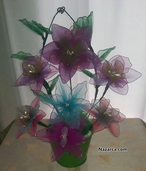 Satılık Tül Çiçekler
