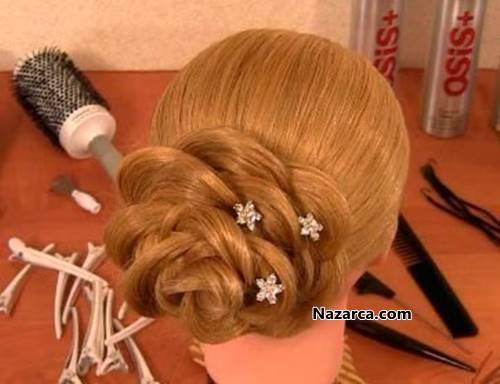 Цветок из кос пошаговая инструкция