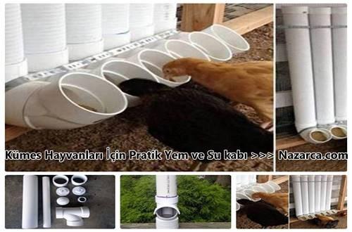 PVC PRATİK TAVUK YEM VE SU KABI &KÜMES MODELLERİ VE FİYATI