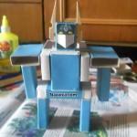 geometrik-sekillerden-robot-projesi